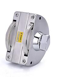 Desbloqueio da chave yl-6032 2 teclas de porta única porta de vidro bloqueio dail lock