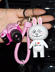 Bag / Phone / Keychain Charm Cute Camera Cartoon Toy Phone Strap PVC