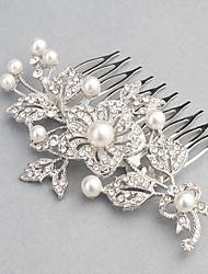 Rhinestone Headpiece-Wedding Hair Combs 1 Piece