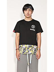 Tee-shirt Homme,Camouflage Avec motifsVêtements de Plein Air Sport de détente Plein Air Sortie Décontracté / Quotidien Athleisure Tenues