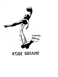 Kobe Bryant Basketball Player Vinyl Wall Stickers Famous Sports Athlete Star Wall Decals Home Decor For Kids Boys Room