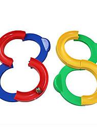Streckensets Kreisförmig Kunststoff