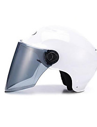Motorcycle Helmet Half Helmet Sunscreen Light Semi-Covered Helmets Are Purple Only According To Roland Red Single With Brown Lenses