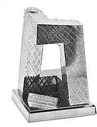 Puzzles Puzzles 3D Puzzles en Métal Blocs de Construction Jouets DIY  Rectangulaire Nouveauté Aluminium