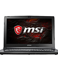 Ordinateur de jeux msi 15.6 pouces intel i7-7700hq 8gb ddr4 1tb hdd windows10 gtx1050ti 4gb gl62m 7rex-1252cn