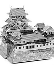 Quebra-cabeças Quebra-Cabeças 3D Quebra-Cabeças de Metal Blocos de construção Brinquedos Faça Você Mesmo Quadrada Alumínio