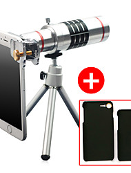 Lingwei 18X Zoom iphone Camera Telephoto Lens Wide Angle Lens / Tripod / Phone Holder / Hard Case / Bag / Cleaning Cloth (iphone 7/7 plus)