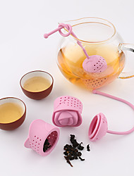 Creative Rose Silicone Tea Strainer
