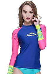 New Korean Diving Suit Female Outdoor Water - slide Split Long - sleeved Diving Suit Women 's Surfing Suit Sunscreen 939