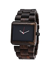 REDEAR®Men's Wood Watch Miyota Japanese 2025 Quartz Wooden Wood Band Luxury Elegant Brown Khaki