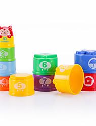 Blocos Lógicos para presente Blocos de Construir Plásticos 3-6 anos de idade Brinquedos