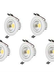 6W LED Downlights Warm White Cool White LED  AC 100-240V 5 pcs