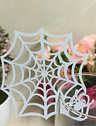 50pcs Spider Web Laser Cut Glass Cards Wedding Cards Table Card Decoration Mariage Favors And Gifts Party Supplies
