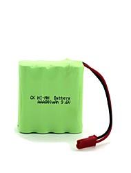 Ck ni-mh батарея aaa 800mah 9.6v
