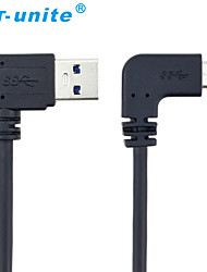 USB 3.0 Cable, USB 3.0 to USB 3.0 Tipo C Cable Macho - Macho 1,0 m (3 pies)