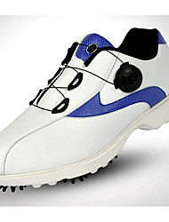 Golf Shoes Men's Golf Sports Outdoor Performance Practise Leisure Sports Artistic Style Stylish Full-grain Leather Rubber