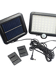 Motion Sensor Solar Powered Outdoor Garden Security Flood Light Spot Lamp