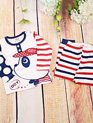 Baby Children's New Baby Cotton Baby Shower Animal Clothing Set,Cartoon All Seasons