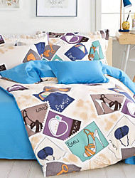 Yuxin®Cotton Twill Four Piece of AB Version of the Package Cotton Bedding  Single Double  Bedding Set