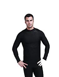 SBART Homme Femme Costumes humides Elasthanne Chinlon Tenue de plongée Manches Longues Combinaisons Hauts/Tops-Natation Sports Nautiques
