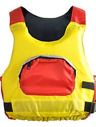 Jaquetas Salva-Vidas Não Especificado Todas as Estações Esportes Mergulho Tactel Sólido Amarelo