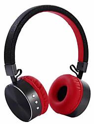 Bt009 novo fone de ouvido bluetooth de metal cabeça montado sem fio 4.1 fone de ouvido estéreo de computador de telefone móvel bluetooth