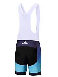 Miloto Shorts Bib de Ciclismo Hombre Bicicleta Petos de deporte/Culotte con tirantes Pantalones Cortos AcolchadosCiclismo Capilaridad