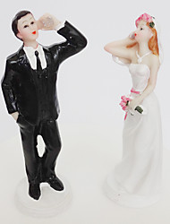 Love Telephone Bride And Groom Cake Topper Decoration