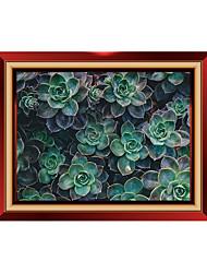Botanický motiv Komiks Módní Samolepky na zeď Samolepky na stěnu 3D samolepky na zeď Ozdobné samolepky na zeď,Vinyl Materiál Home dekorace