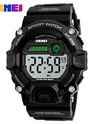 SKMEI LED Digital Watch Double Time Wristwatches Chronograph Date 50M Waterproof Relogio Masculino Sports Watches