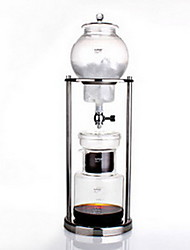 Japanese Drip Ice Coffee Machine Glass Ice Drops Coffee Pot 8 Copies