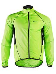 Nuckily Giacca da ciclismo Per uomo Manica lunga Bicicletta Giacca di pelle Giacche a vento Bambini/Poncho Top Traspirazione umidità