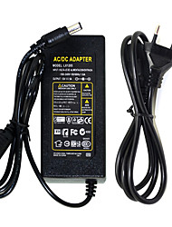 12V 6A Led Driver Adapter Transformer Switch AC100-240V To DC12V Power Adapter Led Light Bar