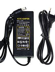 12v 6a conduit adaptateur adaptateur commutateur ac100-240v à dc12v alimentation adaptateur led barre lumineuse