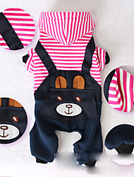 Dog Harness Dog Clothes Casual/Daily Bear