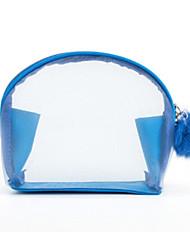 Women Cosmetic Bag Nylon All Seasons Casual Outdoor Rectangle Zipper Purple Black Blue