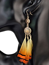 Women's Drop EarringsBasic Circular Unique Design Friendship Durable Movie Jewelry Sexy Luxury Tassels Statement Jewelry Fashion USA