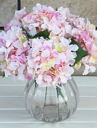 1  Bunch Small And Fresh Artificial Hydrangea Flowers