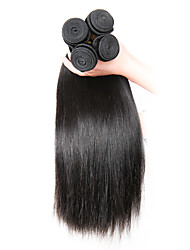 Natural Color Hair Weaves Indian Texture Straight 6 Months 1 Piece hair weaves