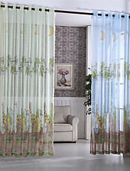 (140cm*260cm)One Panel Valance Organza 3D Curtians for Children Baby Room Curtains for Kids Room Tulle Bedroom Blinds Drapes Sheer Curtains