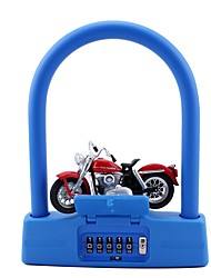 JasitLock 20999 Password Unlocked 5 Digit Password Bicycle Lock Dail Lock Password Lock