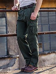 Herren Einfach Mittlere Hüfthöhe Unelastisch Lose Kurze Hosen Lässig Hose,überdimensional Solide