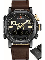 Luxury Brand NAVIFORCE Men Sport Military Watches Men's Quartz Analog LED Digital Wrist Watch Man Clock Relogio Masculino