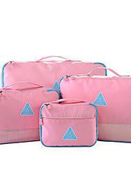 4шт Органайзер Компактный Легкие материалы Ультралегкая ткань Хранение в дороге Аксессуары для багажа дляКомпактный Легкие материалы
