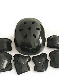 Adulto Equipo de protección Rodilleras, coderas y muñequeras Casco de patinaje para Patinaje sobre hielo Skateboarding Patines en Línea