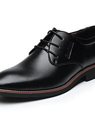 Для мужчин Туфли на шнуровке Удобная обувь Формальная обувь Кожа Весна Лето Осень Зима Повседневные Удобная обувь Формальная обувь