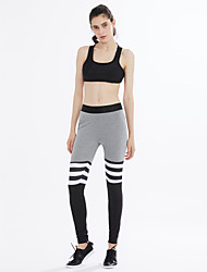 Women's Mid Rise strenchy Active Slim Pants,Active Slim Solid Striped