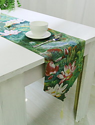 Chinese Classical High Quality Cotton And Linen Material Modern Simple Rectangular Tablecloth 60*60cm