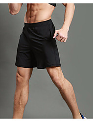 Men's Running Shorts Fitness Running & Yoga Summer Jogging Mountaineering Fitness Running Back Country Polyester LooseSports Indoor