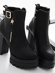 Women's Boots Light Up Shoes Slingback PU Spring Casual Light Up Shoes Slingback Black 3in-3 3/4in